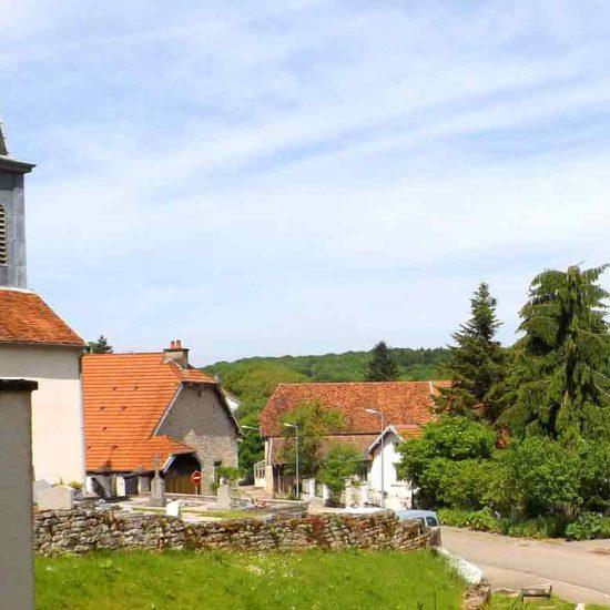 église de Tallenay