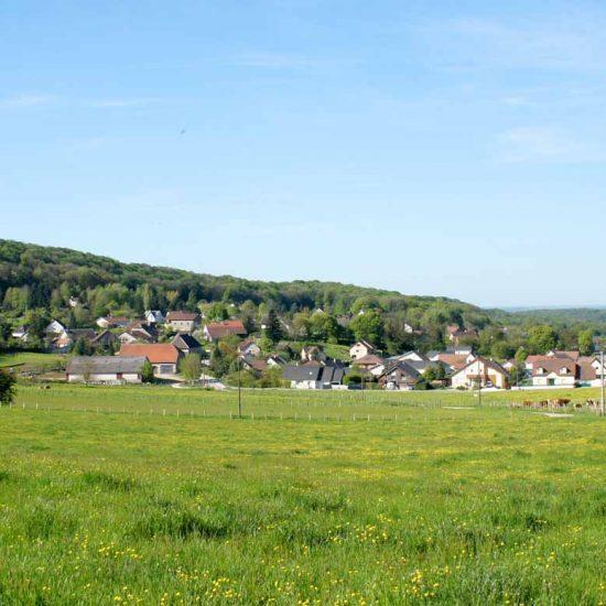paysage de tallenay