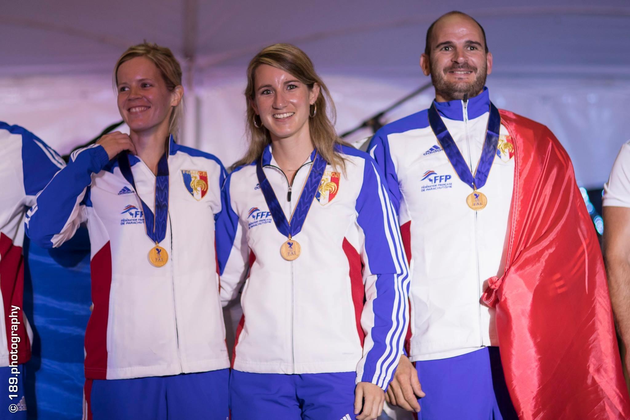 Une Tallenaysienne championne du monde pour la seconde fois