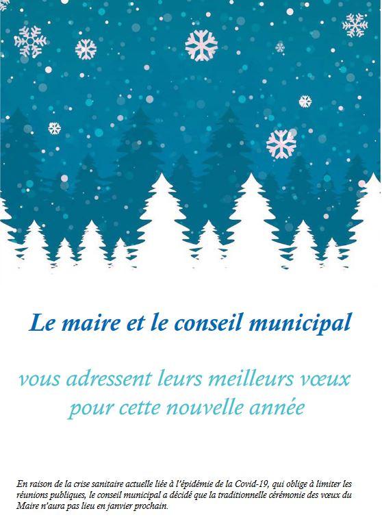 Meilleurs vœux pour cette nouvelle année