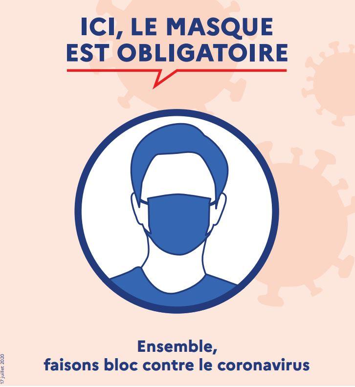 Port du masque : nouvelles instructions préfectorales