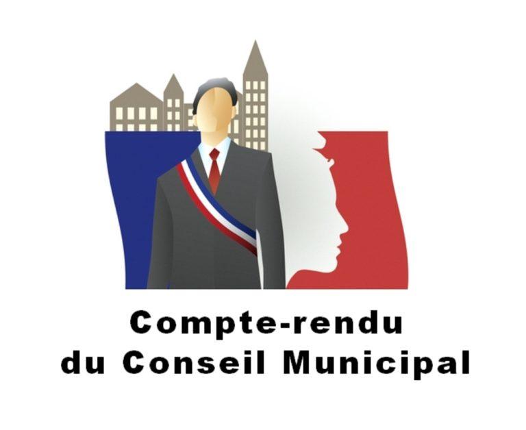 Compte-rendu du conseil municipal du 13 novembre 2020