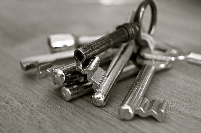 Jeu de clés trouvé